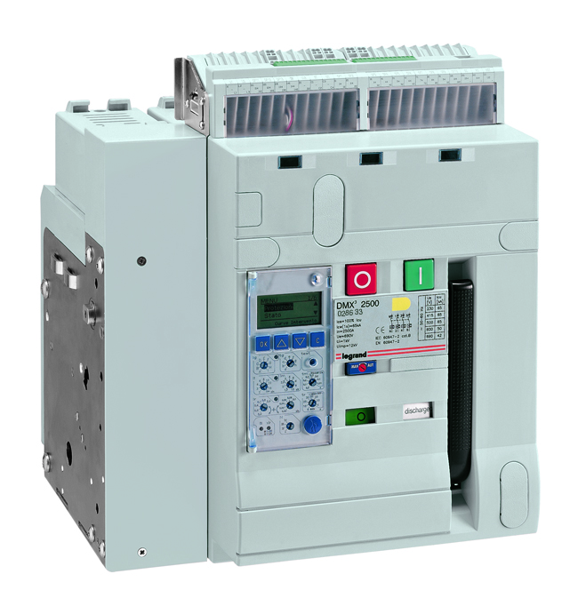 DMX³ air circuit breakers 2500 - 65 kA 3P 630A